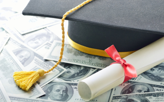 The average student debt load of an Oregon graduate is about $27,500. (pogonici/Adobe Stock)