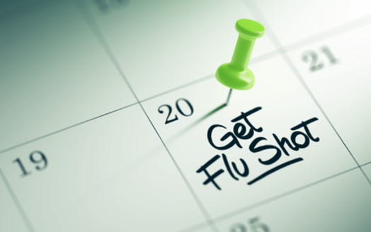 According to the Centers for Disease Control and Prevention, getting a flu shot by the end of October offers the best seasonal protection. (Adobe Stock)