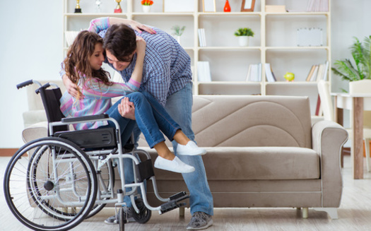 Advocates for Iowans with disabilities say the caregiver shortage could erase decades of progress in self-advocacy. (Adobe Stock)