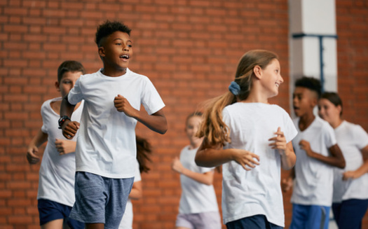 Only 20% of kids nationwide are physically active for at least 60 minutes a day, according to a new United Health Foundation report. (Drazen/Adobe Stock)