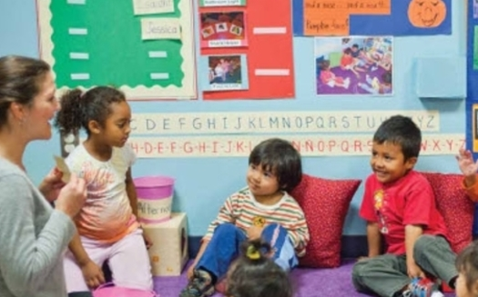 PHOTO: A new Annie E. Casey Foundation report on obstacles to success facing children of color finds only 41-percent of Arizona Latino children ages 3 to 5 are enrolled in pre-school or kindergarten. CREDIT: University of California