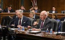 PHOTO: The U.S. Senate Judiciary Committee voted on Thursday to pass a proposed constitutional amendment to give states and Congress more control of political campaign spending. The 10-8 vote was along party lines. Photo courtesy U.S. Senate Judiciary Committee.