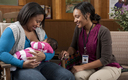 PHOTO: Efforts to get more mothers to breastfeed their babies are paying off as 79 percent of moms in the U.S. begin nursing, and the health benefits for them and their babies are many. Photo credit: California Department of Public Health.