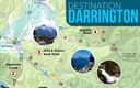 MAP: The free map created by 10 outdoor recreation and conservation groups is credited with giving a much needed push to the local economy of Darrington, Wash., after the Oso mudslide cut access to the town for two months this spring. Image courtesy DestinationDarringtonMap.com.