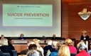 PHOTO: It was a full house earlier this year for Kitsap County's first Suicide Prevention Forum, part of an ongoing effort to reduce the county suicide rate. Photo courtesy League of Women Voters of Kitsap County.