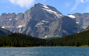 PHOTO: A note for folks headed to Glacier National Park, or any national park: Aerial drones are not allowed. Drones have been popular as a means to take photos and videos. Photo of Swiftcurrent Lake and Mount Gould: David Restivo/National Park Service