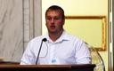 PHOTO: Jason Allen of the Wyoming County Students Against Destructive Decisions (SADD) has testified to the state legislature about his life in the foster care system after substance abuse damaged his family. The Wyoming County SADD group is being honored as one of the best chapters in the nation. Photo courtesy of the Our Children, Our Future Campaign.