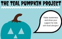 GRAPHIC: This Halloween, teal pumpkins will indicate houses that are handing out allergy-safe, non-food items in an effort to include more children in the fall festivities. Graphic credit: Food Allergy Research and Education.
