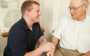 PHOTO: It is National Family Caregivers Month, to salute the tens of millions of Americans who are caring for a family member. AARP has launched a new initiative, I Heart Caregivers, to honor and help those who care for family members.  (Photo credit: seniorcarestress.com)