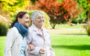 PHOTO: More than 4 million caregivers now can find online support at a new website www.aarp.org/iheartcaregivers, a place to share stories and tips on caregiving. Photo credit: FredFroese