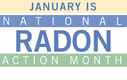 GRAPHIC: The EPA's National Radon Action Month is an annual effort in January to get more people to test their homes for radon. It's odorless and invisible, so many folks assume it isn't a problem, but radon is the second-leading cause of lung cancer. Image courtesy U.S. Environmental Protection Agency.