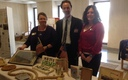 PHOTO: Jodi James and her colleagues at the Florida Cannabis Action Network display their wares, all made from hemp, at the Florida State Capitol. Photo credit: Phil Latzman