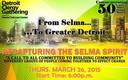 PHOTO: Representatives from Detroit area churches, synagogues, and mosques will be among those attending a community conversation in honor of the 50th anniversary of the Selma march. Image courtesy of Detroit Clergy Gathering.