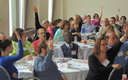 PHOTO: The third annual Patient and Family Advisory Council conference is under way in Worcester. Local advocates say these community volunteers have saved consumers both time and money. Photo courtesy of Health Care for All Massachusetts.