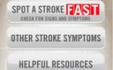 PHOTO: A free app is available for iOS and Android users that can help Michiganders identify the warning signs of a stroke, and get to the closest treatment center. Image courtesy of American Heart Association.