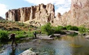 PHOTO: Hikes along the West Little Owyhee River are just one option for outdoor recreation in the Owyhee Canyonlands. Eight conservation groups have formed a coalition to protect the area as federal wilderness. Photo credit: Jeremy Fox/Owyhee Coalition.