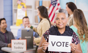 Wisconsin was the first state to ratify the 19th Amendment, which gave women the right to vote. But the chair of the Wisconsin Women's Network says the state has been moving backward in the past few years. Credit: Pamela Moore/iStockPhoto.com