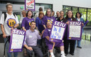 The combined voices of more than 20,000 SEIU home care workers in Oregon have caught the attention of the conservative Freedom Foundation, a group that has launched an anti-union ad campaign and, this week, sued SEIU Local 503 and several state department heads. Courtesy: SEIU Local 503.