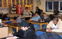 PHOTO: Students in middle and high school, like those seen here, would do better academically, have better overall health and would be more inclined to avoid smoking, drinking and other unhealthy choices, if they could get more sleep, according to a study from the CDC. Photo courtesy of NASA.Education.