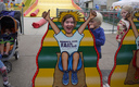 The State Fair begins today with classics like the giant slide, along with new offerings like the Minnesota Department of Health's newborn screening booth. Credit: Lynn B/Flickr.