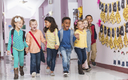 Keeping your back-to-school child healthy involves lots of physical activity, careful meal planning and setting a good example as an adult. Credit: Tomml/iStockPhoto.com