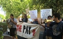 Hourly workers in Nevada joined a 50-city push Thursday to boost the minimum wage to $15 an hour. Courtesy: PLAN