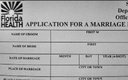 """Florida marriage certificate and license applications will change today to say """"spouse"""" and """"spouse."""" Credit: Florida Bureau of Vital Statistics"""