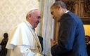 Pope Francis used a visit to the White House to say climate change is an issue that can't wait. Green groups in New York wonder whether lawmakers at the state and federal level are getting that message. Courtesy: White House Government Photo