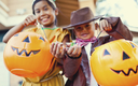 Safe Kids Worldwide has some easy and effective tips for drivers and parents to make sure all ghosts and goblins can trick-or-treat safely. Credit: Manley099/iStockphoto