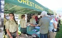 Seasonal workers help the U.S. Forest Service with a variety of jobs, including public outreach at events like Pacific Crest Trail Day. Courtesy: USFS Pacific Northwest Region