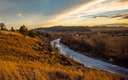 Montana's Tongue River is just one that could be affected by last-minute riders to the omnibus budget bill in Congress. Credit: Alexis Bonogofsky