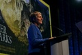 U.S. Interior Secretary Sally Jewell speaking at the National Geographic Society for the 100th Anniversary of the creation of the National Parks. (Tami Heilemann/U.S. Department of the Interior)