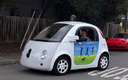 Google's self-driving cars, like the one above, have logged more than 1.5 million miles of autonomous driving.(Grendelkhan/Wikimedia Commons)