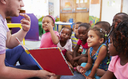 Many parents in Illinois and across the nation are facing serious challenges to accessing financial assistance for child care programs, according to a new report. (iStockphoto)