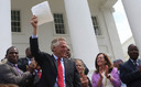 Voting rights activists approve of Gov. Terry McAuliffe restoring voting rights for felons. (Flicker/Governor Terry McAuliffe)