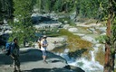 Hikers enjoy Dinkey Creek in the Sierra National Forest, one area that has been left off the U.S. Forest Service list of places to be recommended for wilderness protection. (Steve Evans, California  Wilderness Coalition)