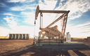 A hydraulic fracking well extracts resources at a North Dakota oil field. (iStockphoto)