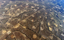 Well pads dot the landscape at the Jonah oil and gas fields in Wyoming. (Bruce Gordon/EcoFlight)