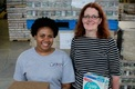 Japera Benson and Carol Whitmore work on Summer Meal Programs in Ohio. (Ohio Association of Foodbanks)