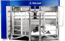 Robotic milking systems are leading to happier, healthier cows. (DeLaval.com)\