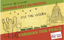 GRAPHIC: Caravan for Peace post card.