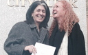 Photo: Mary Jamis, left, and Starr Johnson married in New York after being together for 14 years. Courtesy: Jamis and Johnson