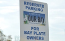 "PHOTO: The 400,000 Marylanders who purchase ""Treasure the Chesapeake"" license plates, a fundraiser for projects that benefit Chesapeake Bay, are learning this week about new benefits and incentives, including preferred parking. Photo courtesy Chesapeake Bay Trust."