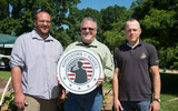 PHOTO: The U.S. Department of Agriculture's Homegrown By Heroes initiative allows all American farmers and ranchers who have or are still serving in any branch of the U.S. military the ability to use the logo on their agricultural products. Photo credit: USDA photo by Tom Witham.