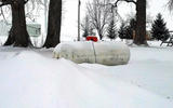 PHOTO: The extremely long and harsh Wisconsin winter last year caused a propane price and shortage crisis, and consumer experts say now is the time to order your winter propane. (Photo courtesy of Purdue University)