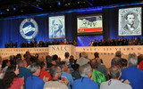 PHOTO: The National Association of Letter Carriers meets every other year. At this week's meeting in Philadelphia, members discussed possibilities for modernizing the U.S. Postal Service and avoiding service cutbacks.  Photo credit: Michael Shea, National Assn. of Letter Carriers