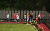 PHOTO: The public is invited to view The Moving Wall and pay tribute to the lives lost in Vietnam as the exhibit comes to Michigan this week. Photo courtesy of The Moving Wall Museum foundation.