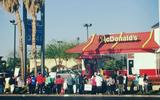 PHOTO: Fast food workers in Nevada are planning to strike today, as part of a nationwide day of action in hopes of boosting pay. Photo credit: Progressive Leadership Alliance of Nevada.