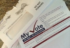 PHOTO: Absentee ballot applications have been mailed out in Ohio, but it's still unclear when early voting by mail, or in person, will begin. Photo credit: M. Kuhlman.