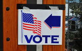 PHOTO: North Carolina voters have until Oct. 10 to make sure they're properly registered in their home precinct in order to vote in the November election. Photo credit: Tom Arthur/Wikimedia Commons.